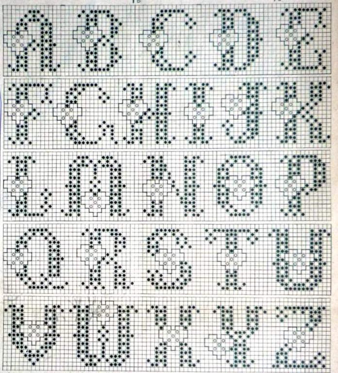 Hearts alphabet-2