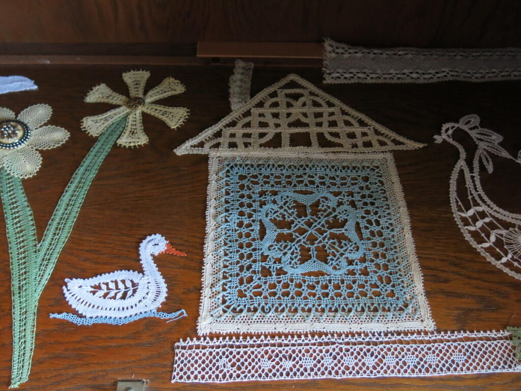 Lacemaking exhibition