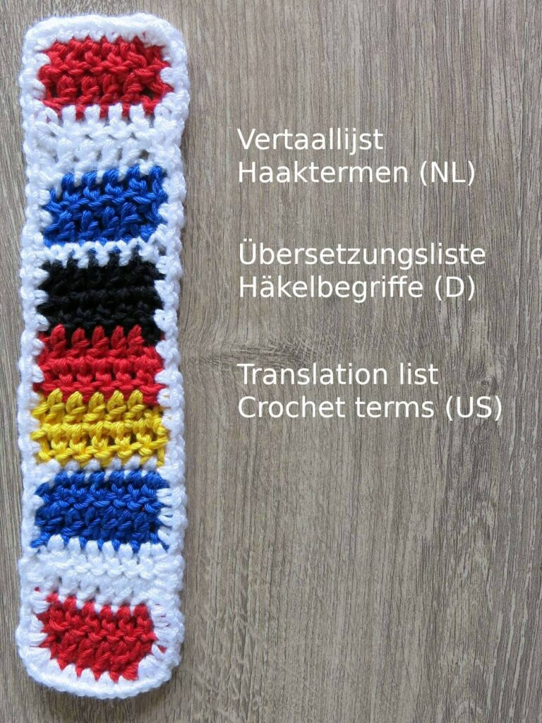 Translationlist crochet terms