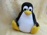 Crochet Penguin Tux