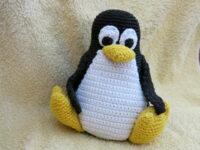 Crochet Penguin Tux
