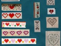 All kinds of hearts to embroider